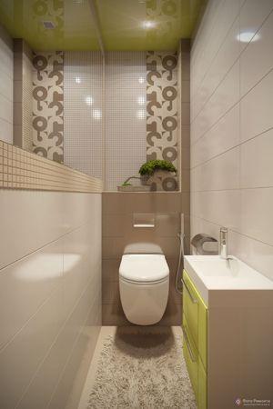 Праильное освещение в туалетной комнате небольшого размера