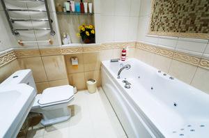 Мозаичная плитка в туалете