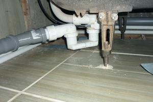 Подключение слива душевой кабины к общей канализации