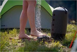 Как устроен душ топтун