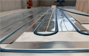 Укладка водяного пола под плитку - технология