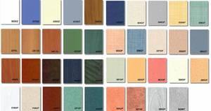 Выбор цвета пластиковых панелей