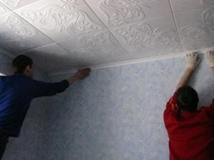 Какие есть потолочные плитки