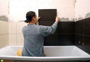 Наилучший выбор плитки для ванной комнаты