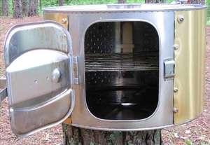 Коптильня из корпуса стиральной машины - фото