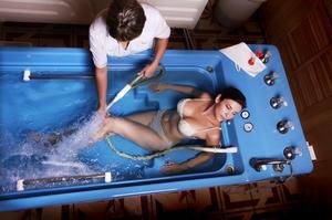 Душ - массаж в санатории и профилактории