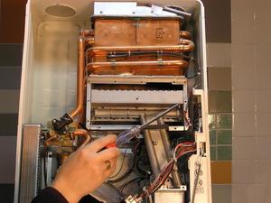 Конструкция газовых водонагревателей