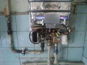 Принцип действия газовых колонок