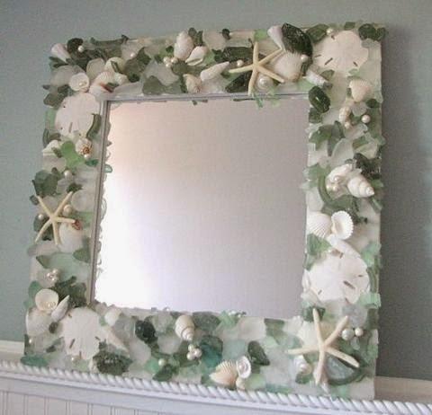 Как красиво задекорировать зеркало своими руками 47