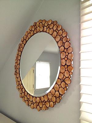 Как красиво задекорировать зеркало своими руками 48
