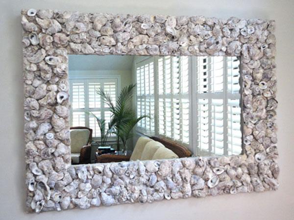Как красиво задекорировать зеркало своими руками 88