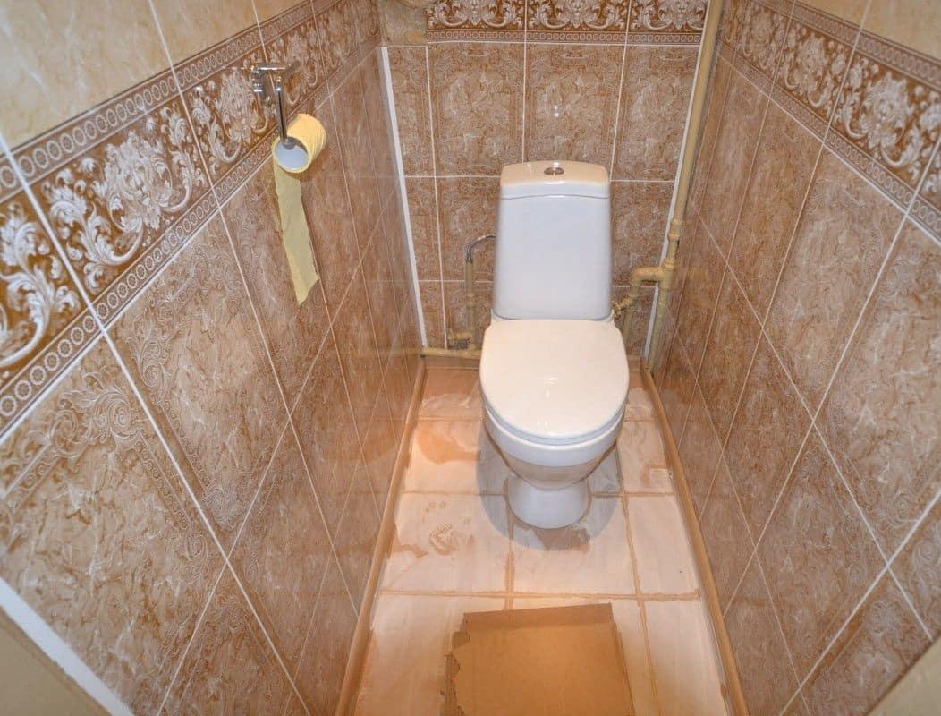 Ремонт туалета своими руками с пластиковыми панелями фото фото 315