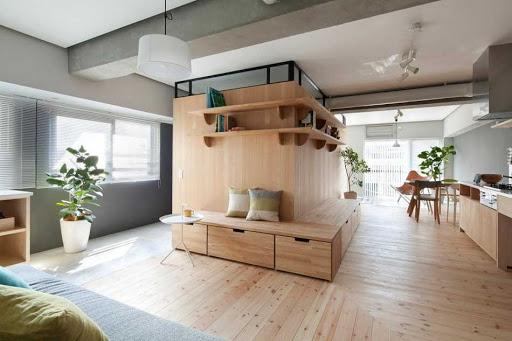 Отделочные работы в современной квартире