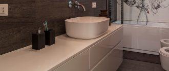 Заказ влагостойкой мебели для ванной комнаты от производителя