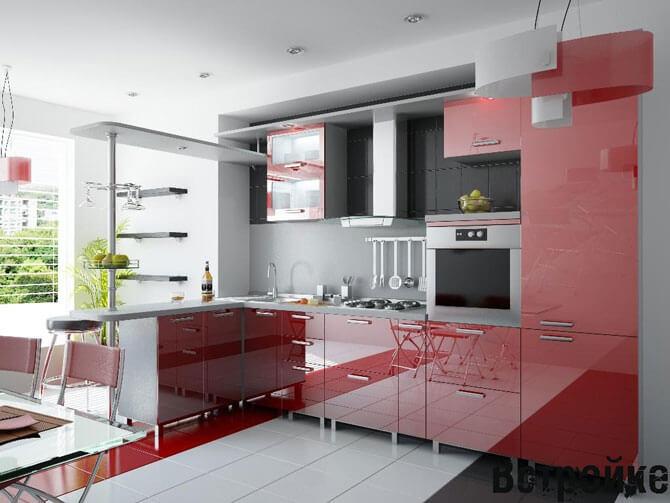 Оформление и дизайн интерьеров: достоинства встраиваемой мебели