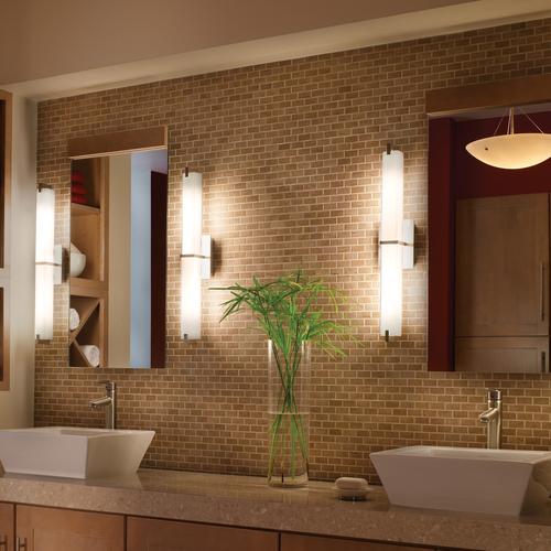 Подбираем светильники в ванную