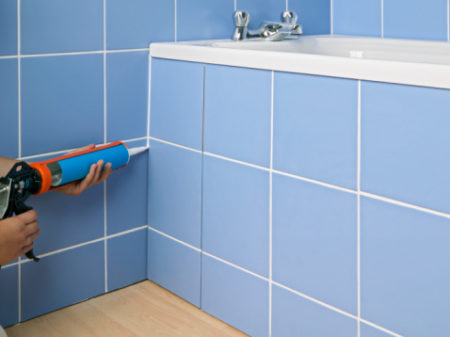Рекомендации по подбору цвета затирки для ванной